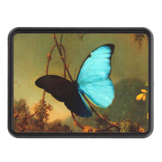 Mariposa azul de Martin Johnson Heade Morpho Tapa De Remolque