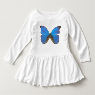 Mariposa azul de Morpho Playeras