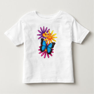 Mariposa azul de Morpho Remera