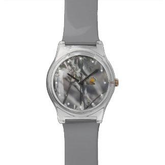 Mariposa azul enana occidental relojes de pulsera