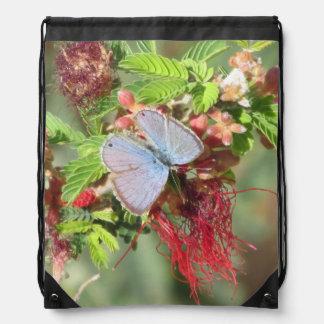 Mariposa azul marina mochilas