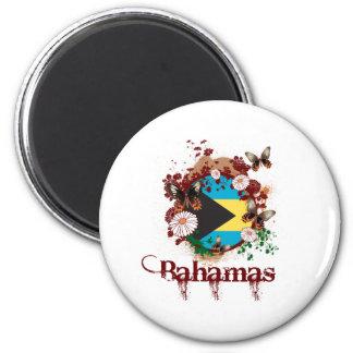 Mariposa Bahamas Imán De Nevera