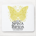 Mariposa bífida de Spina Tapetes De Raton