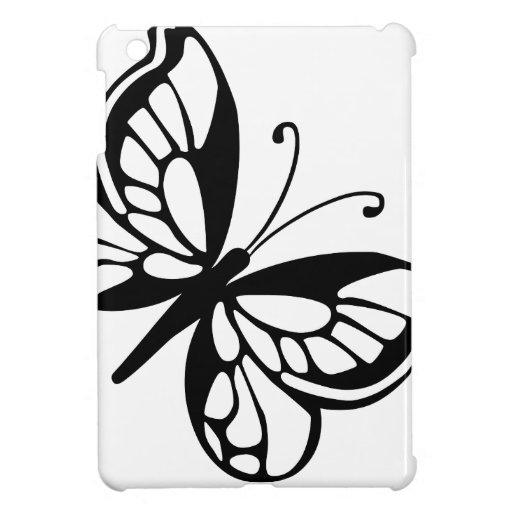 Mariposa blanco y negro