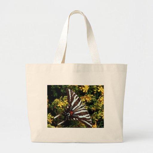 Mariposa Bolsa Tela Grande