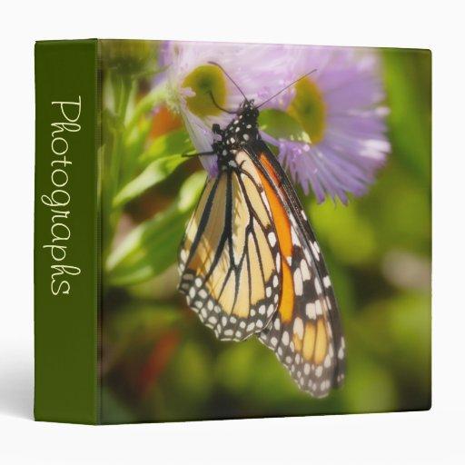 "Mariposa bonita 1,5"" álbum de foto"