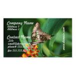 Mariposa bonita de Swallowtail Tarjetas De Visita