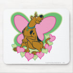 Mariposa bonita Scooby de Scooby Mouse Pad