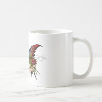 Mariposa bonita tazas