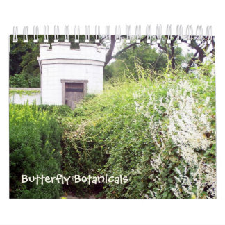 Mariposa Botanicals calendario de 12 meses