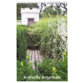 Mariposa Botanicals calendario de 18 meses