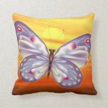Mariposa brillante cojin