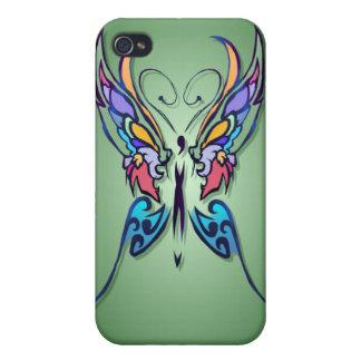 Mariposa brillante - es iPhone 4 fundas