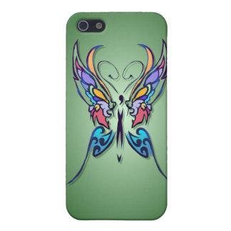 Mariposa brillante - es iPhone 5 carcasas