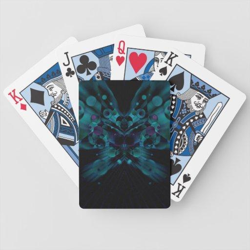 Mariposa burbujeante baraja de cartas