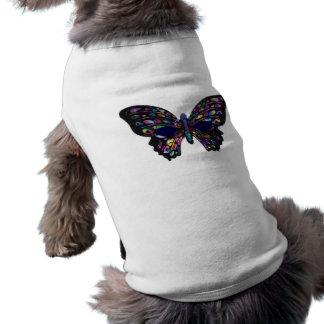 Mariposa - camiseta del perrito ropa de perro