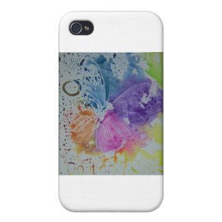 Mariposa caprichosa iPhone 4/4S funda