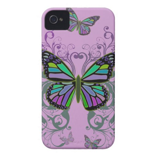 Mariposa Case-Mate iPhone 4 Cárcasa