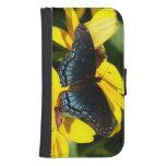 Mariposa, caso de la cartera del iPhone Cartera Para Teléfono