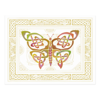 Mariposa céltica II Postales