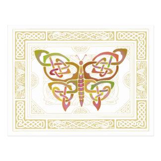 Mariposa céltica II Tarjetas Postales