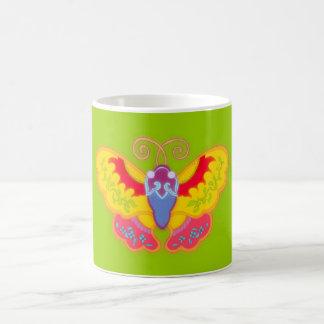 Mariposa China butterfly Taza De Café