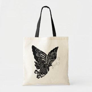Mariposa china del diseño del Papel-Cut - bolso Bolsa De Mano