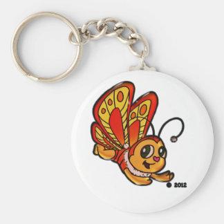 Mariposa Chloe Llavero Redondo Tipo Pin