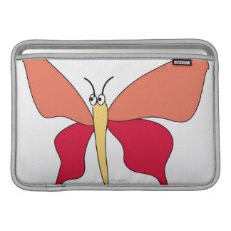 Mariposa colorida fundas para macbook air