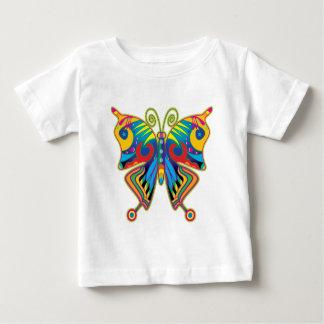 Mariposa colorida playeras