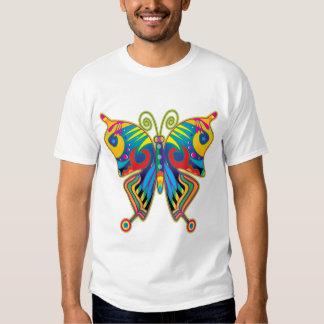 Mariposa colorida polera