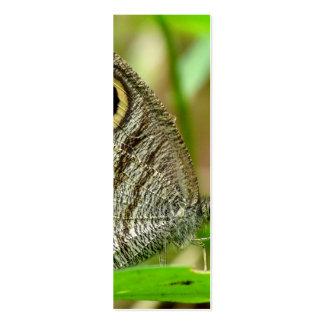 Mariposa común de Fivering Satyrinae Plantillas De Tarjetas De Visita