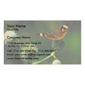 Mariposa común del castaño de Indias en Serpiente  Tarjetas Personales