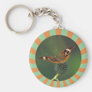 Mariposa común del castaño de Indias Llavero Personalizado