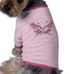 Mariposa conciencia día 6 de junio camisas de mascota