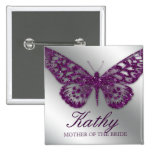 Mariposa conocida de la púrpura de la chispa del b pins