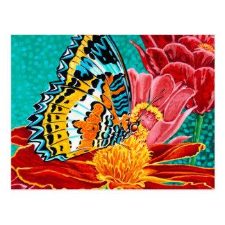 Mariposa contrapesada I Postal