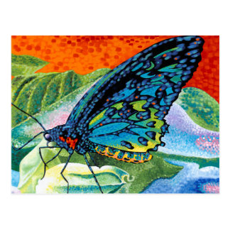 Mariposa contrapesada II Postales