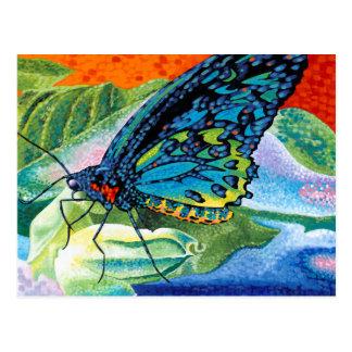 Mariposa contrapesada II Tarjeta Postal