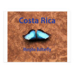 Mariposa Costa Rica de Morpho Postal