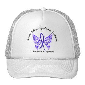Mariposa crónica del síndrome del cansancio del CF Gorra