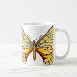 mariposa de Apolo Tazas