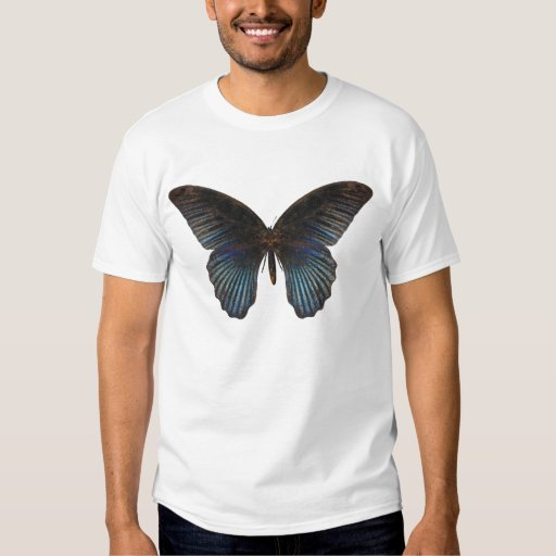 Mariposa de BlueSwallowTail Remera