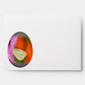 mariposa de col del huevo de Pascua