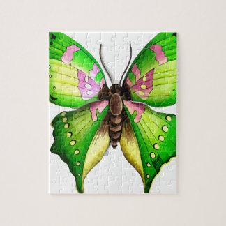 Mariposa de Colorfull Puzzles