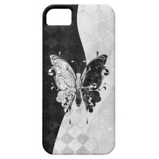 Mariposa de dos tonos funda para iPhone 5 barely there
