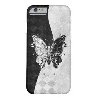 Mariposa de dos tonos funda para iPhone 6 barely there