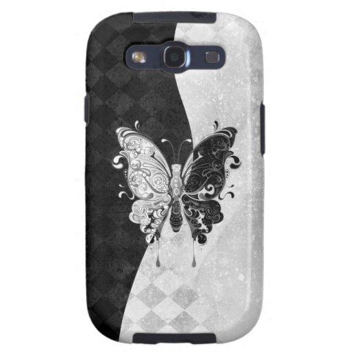 Mariposa de dos tonos galaxy s3 protector