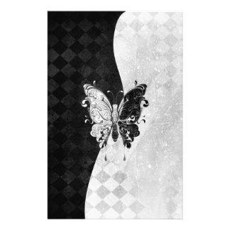 Mariposa de dos tonos papelería