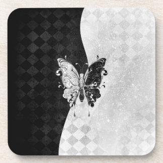 Mariposa de dos tonos posavasos